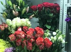 Красивые и свежие цветы в нашем магазине